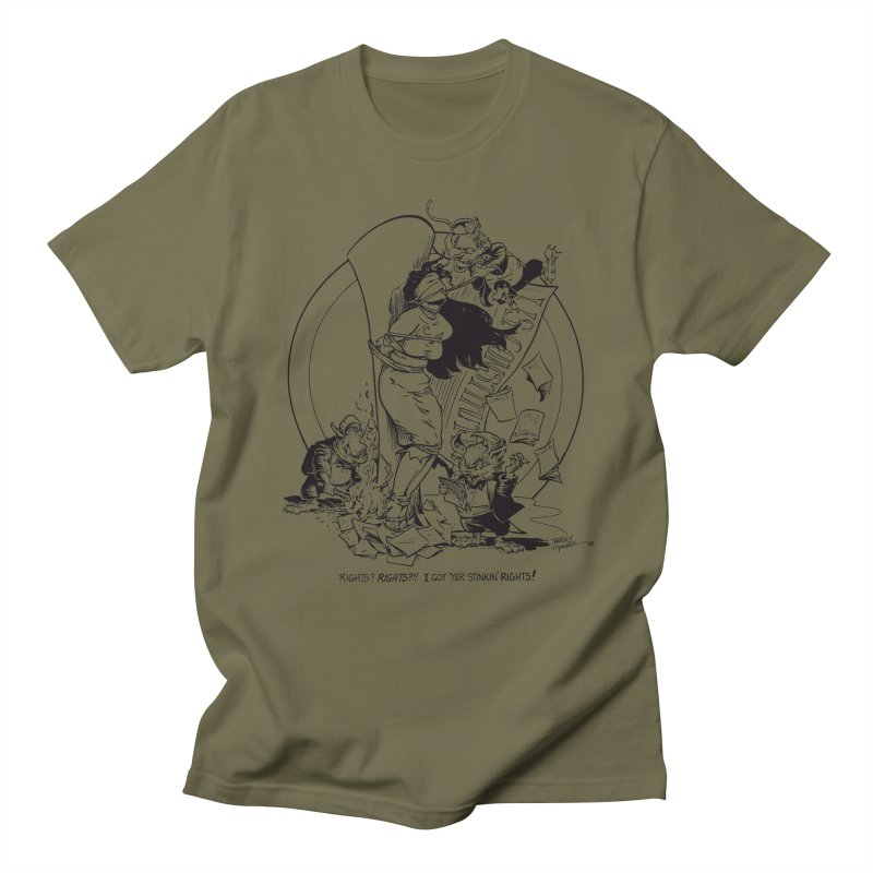 Terry Moore 1995 Women's Regular Unisex T-Shirt by COMIC BOOK LEGAL DEFENSE FUND