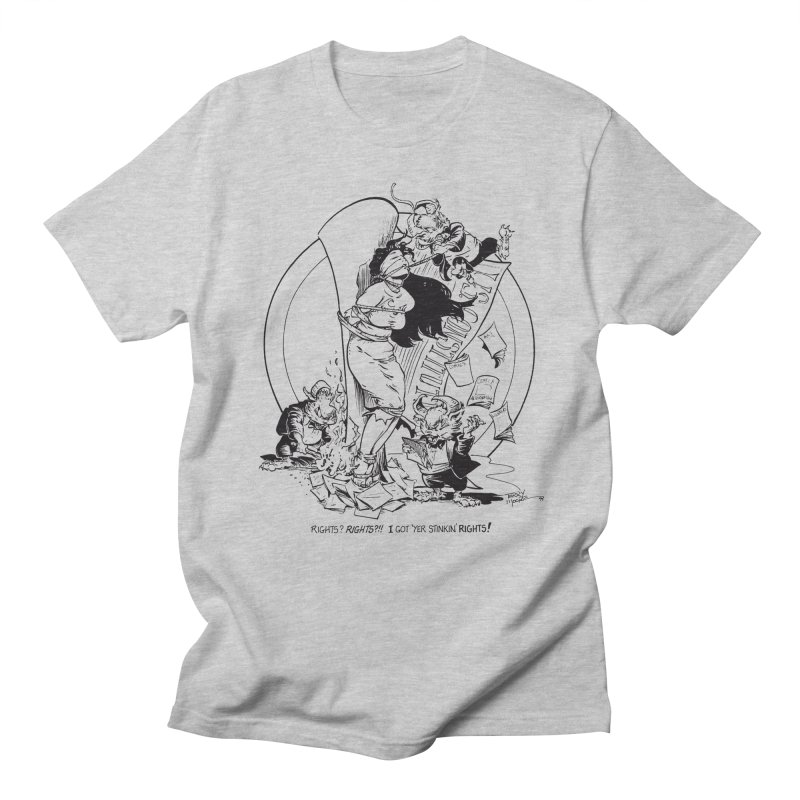 Terry Moore 1995 Men's Regular T-Shirt by COMIC BOOK LEGAL DEFENSE FUND