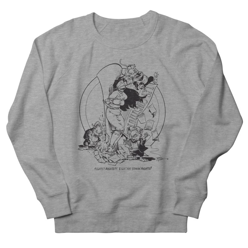 Terry Moore 1995 Women's French Terry Sweatshirt by COMIC BOOK LEGAL DEFENSE FUND