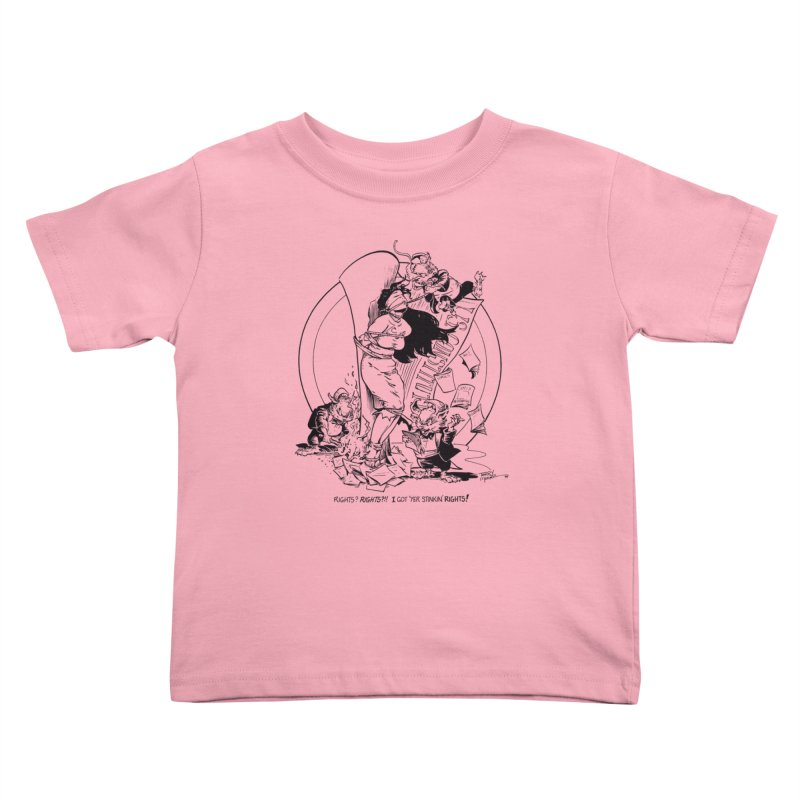 Terry Moore 1995 Kids Toddler T-Shirt by COMIC BOOK LEGAL DEFENSE FUND