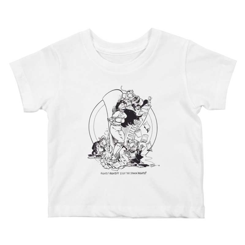 Terry Moore 1995 Kids Baby T-Shirt by COMIC BOOK LEGAL DEFENSE FUND