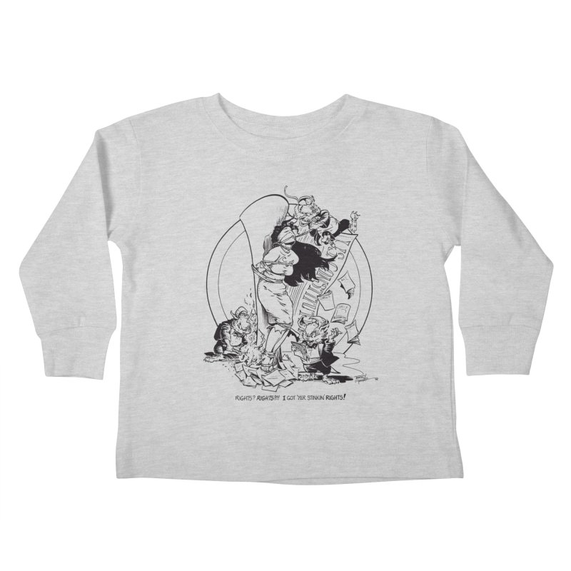 Terry Moore 1995 Kids Toddler Longsleeve T-Shirt by COMIC BOOK LEGAL DEFENSE FUND
