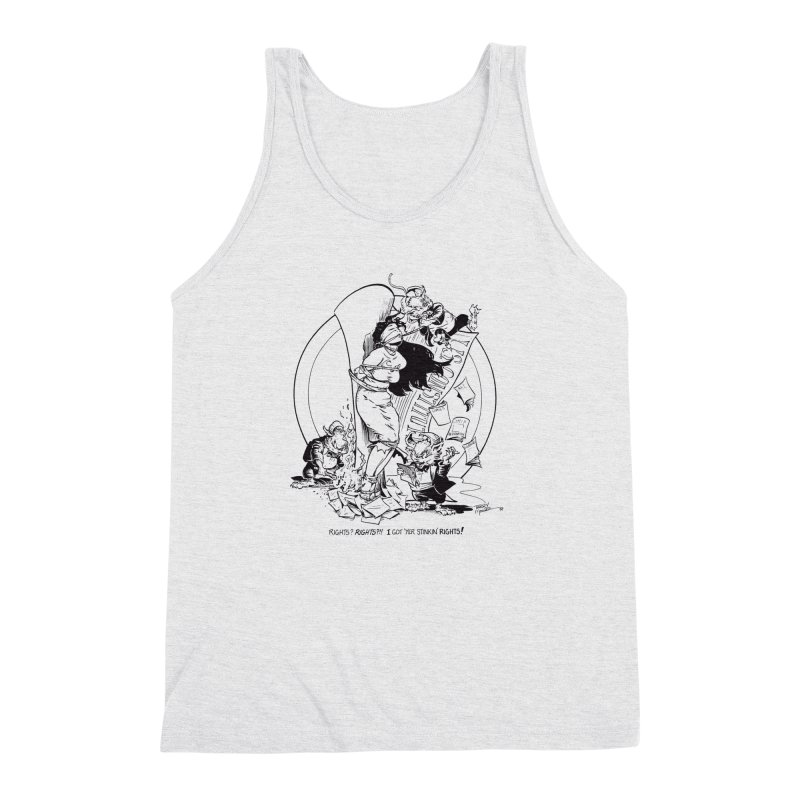 Terry Moore 1995 Men's Triblend Tank by COMIC BOOK LEGAL DEFENSE FUND