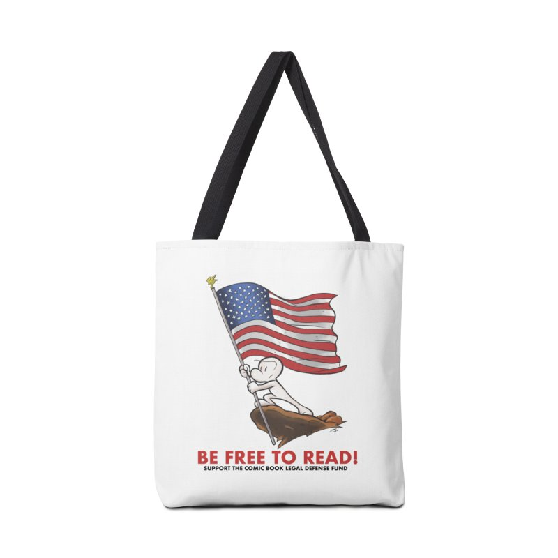 BONE with FLAG by JEFF SMITH Accessories Bag by COMIC BOOK LEGAL DEFENSE FUND