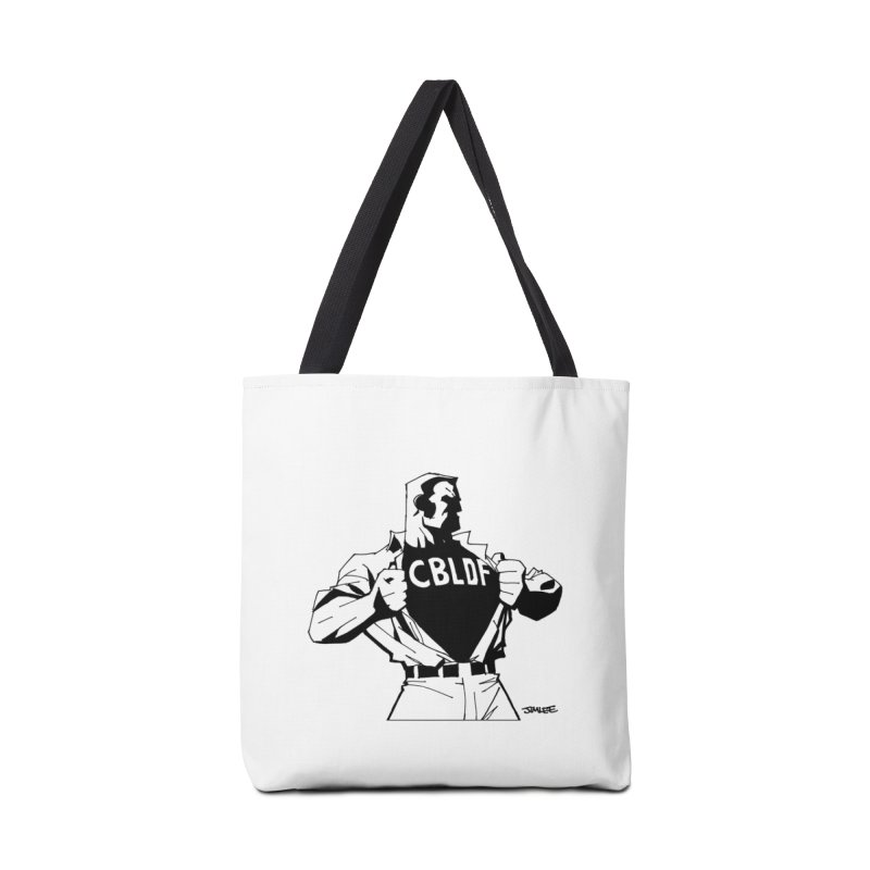 FREE SPEECH HERO by JIM LEE Accessories Bag by COMIC BOOK LEGAL DEFENSE FUND