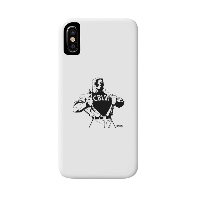 FREE SPEECH HERO by JIM LEE Accessories Phone Case by COMIC BOOK LEGAL DEFENSE FUND