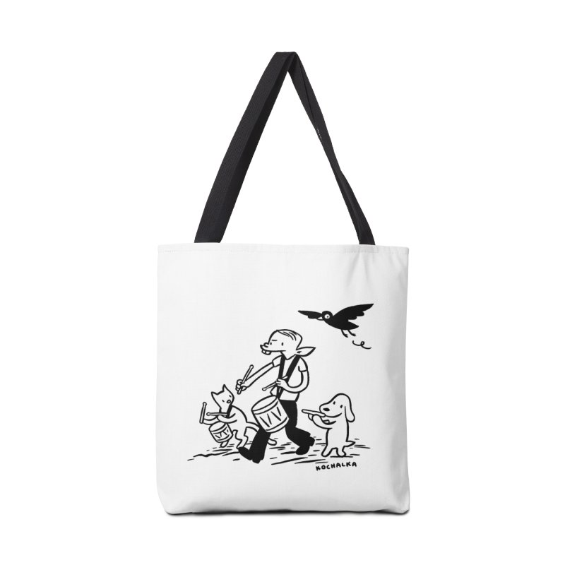Liberty on the March by James Kochalka Accessories Bag by COMIC BOOK LEGAL DEFENSE FUND
