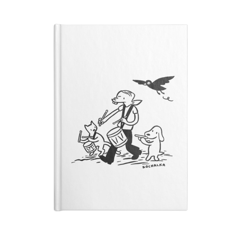 Liberty on the March by James Kochalka Accessories Notebook by COMIC BOOK LEGAL DEFENSE FUND