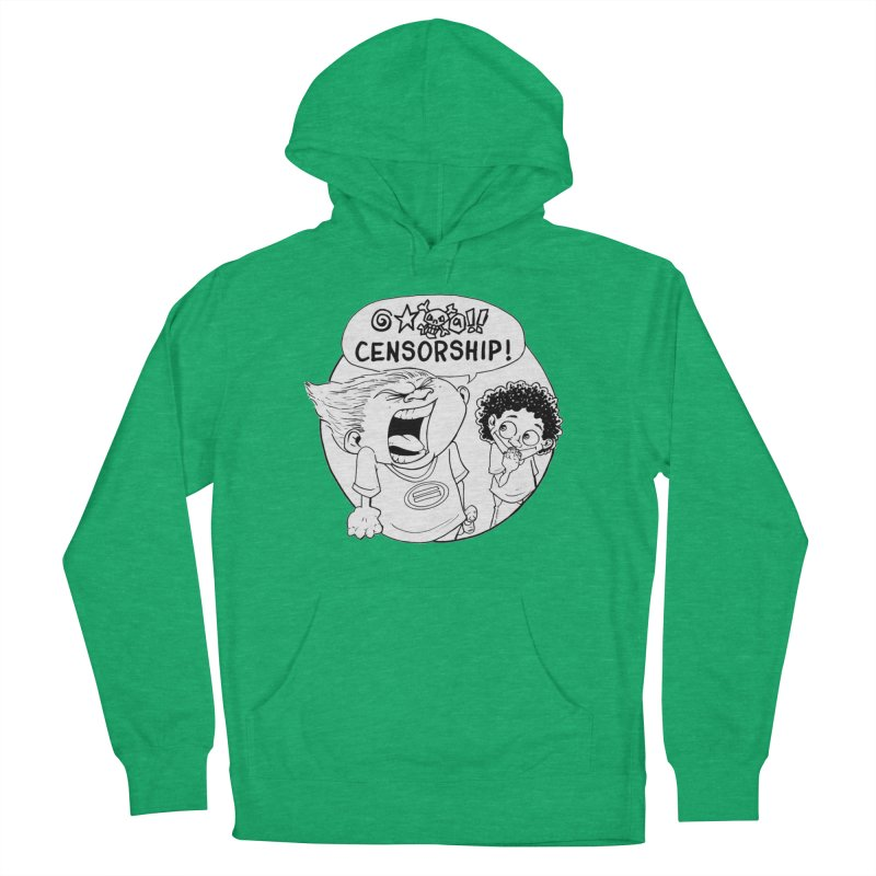 BARRY WEEN (POLITE) by JUDD WINICK Women's French Terry Pullover Hoody by COMIC BOOK LEGAL DEFENSE FUND