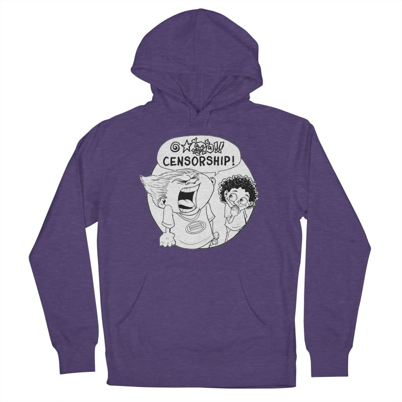 BARRY WEEN (POLITE) by JUDD WINICK Men's Pullover Hoody by COMIC BOOK LEGAL DEFENSE FUND