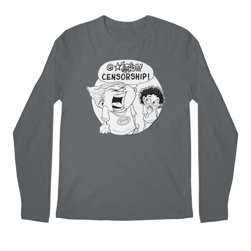 BARRY WEEN (POLITE) by JUDD WINICK Men's Regular Longsleeve T-Shirt by COMIC BOOK LEGAL DEFENSE FUND