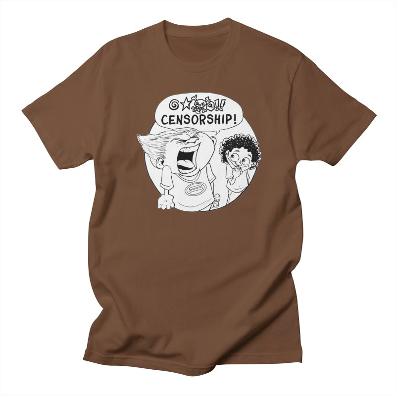 BARRY WEEN (POLITE) by JUDD WINICK Men's Regular T-Shirt by COMIC BOOK LEGAL DEFENSE FUND