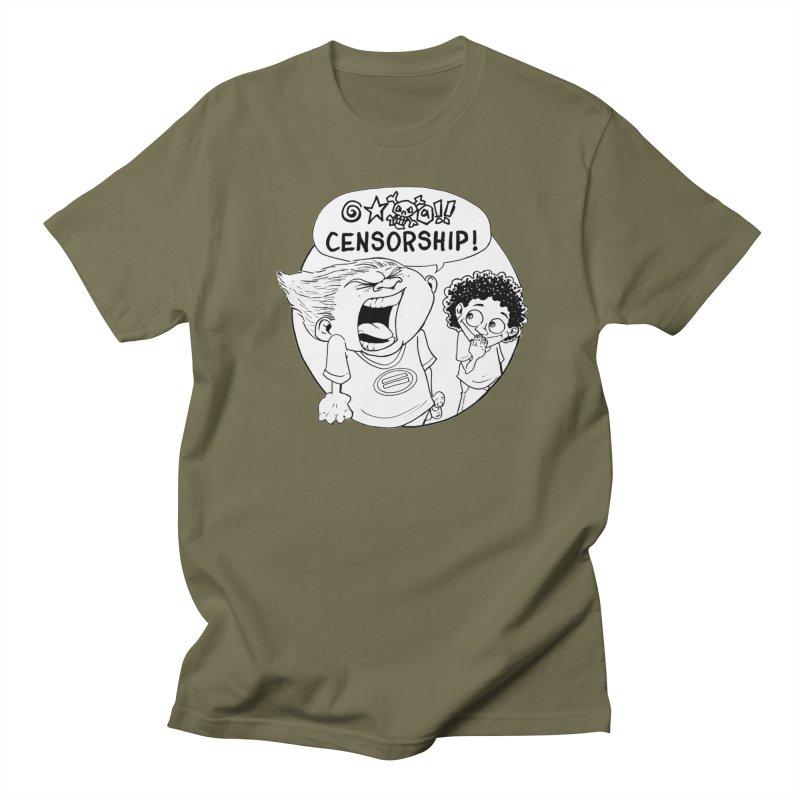 BARRY WEEN (POLITE) by JUDD WINICK Women's Regular Unisex T-Shirt by COMIC BOOK LEGAL DEFENSE FUND