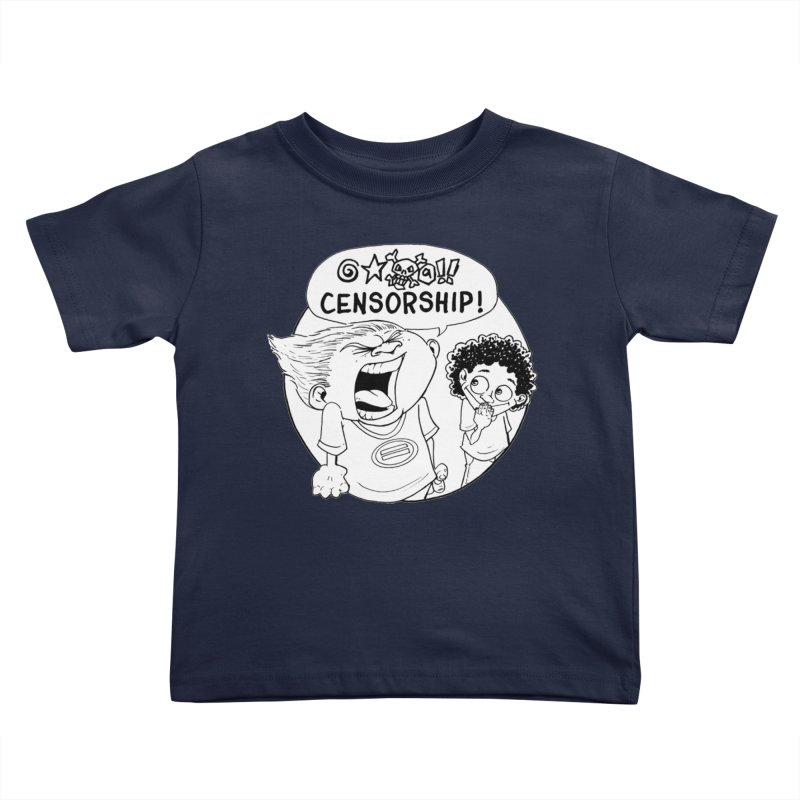 BARRY WEEN (POLITE) by JUDD WINICK Kids Toddler T-Shirt by COMIC BOOK LEGAL DEFENSE FUND