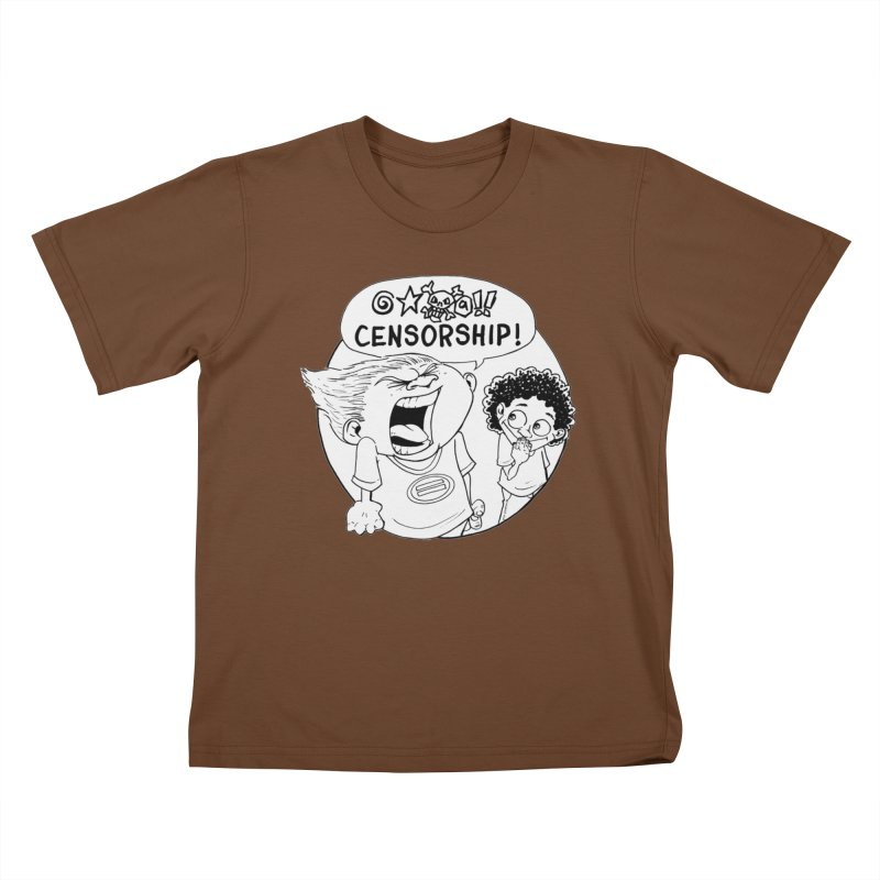 BARRY WEEN (POLITE) by JUDD WINICK Kids T-Shirt by COMIC BOOK LEGAL DEFENSE FUND
