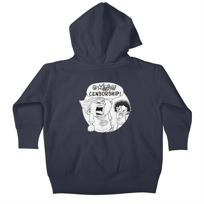 BARRY WEEN (POLITE) by JUDD WINICK Kids Baby Zip-Up Hoody by COMIC BOOK LEGAL DEFENSE FUND
