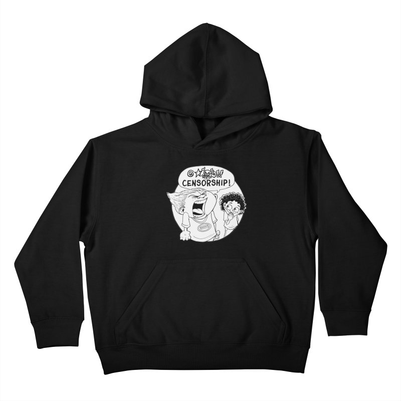 BARRY WEEN (POLITE) by JUDD WINICK Kids Pullover Hoody by COMIC BOOK LEGAL DEFENSE FUND