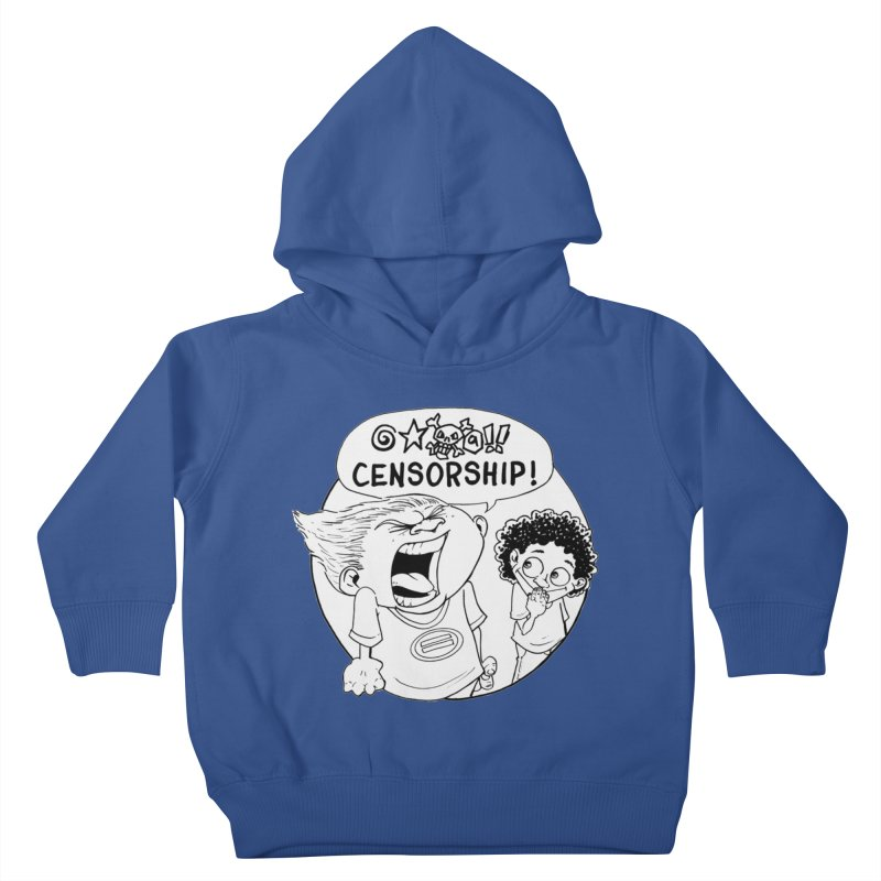 BARRY WEEN (POLITE) by JUDD WINICK Kids Toddler Pullover Hoody by COMIC BOOK LEGAL DEFENSE FUND
