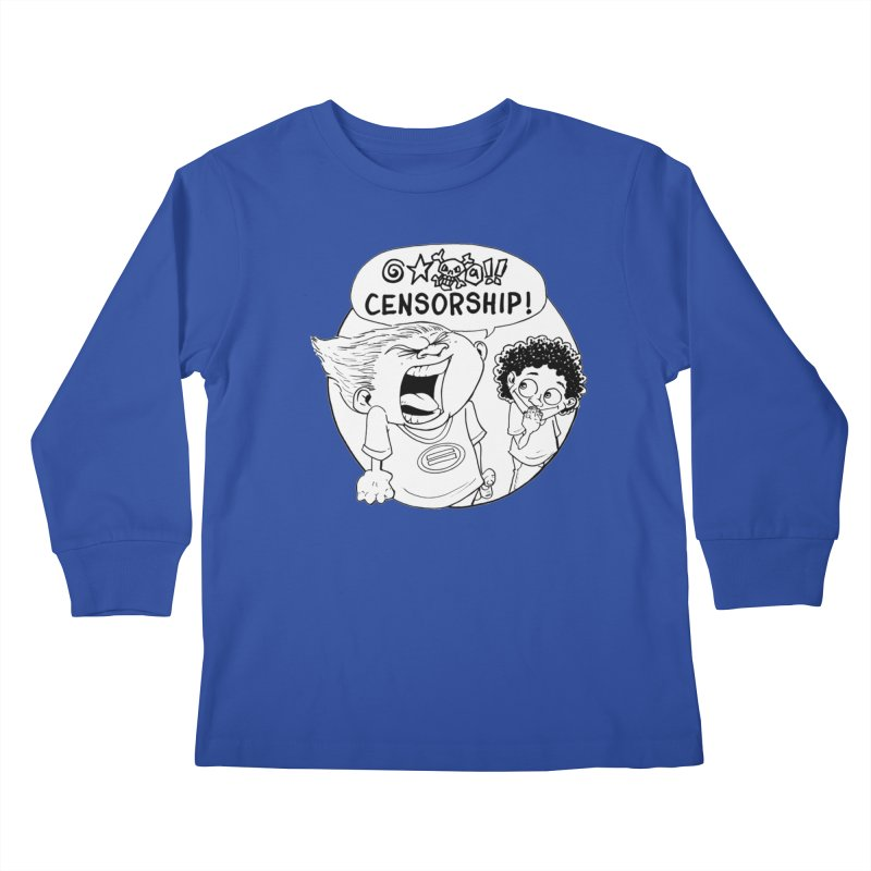 BARRY WEEN (POLITE) by JUDD WINICK Kids Longsleeve T-Shirt by COMIC BOOK LEGAL DEFENSE FUND