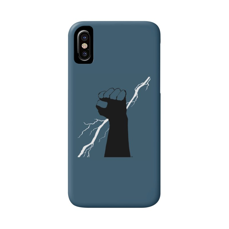 DEFIANT FIST by FRANK MILLER Accessories Phone Case by COMIC BOOK LEGAL DEFENSE FUND