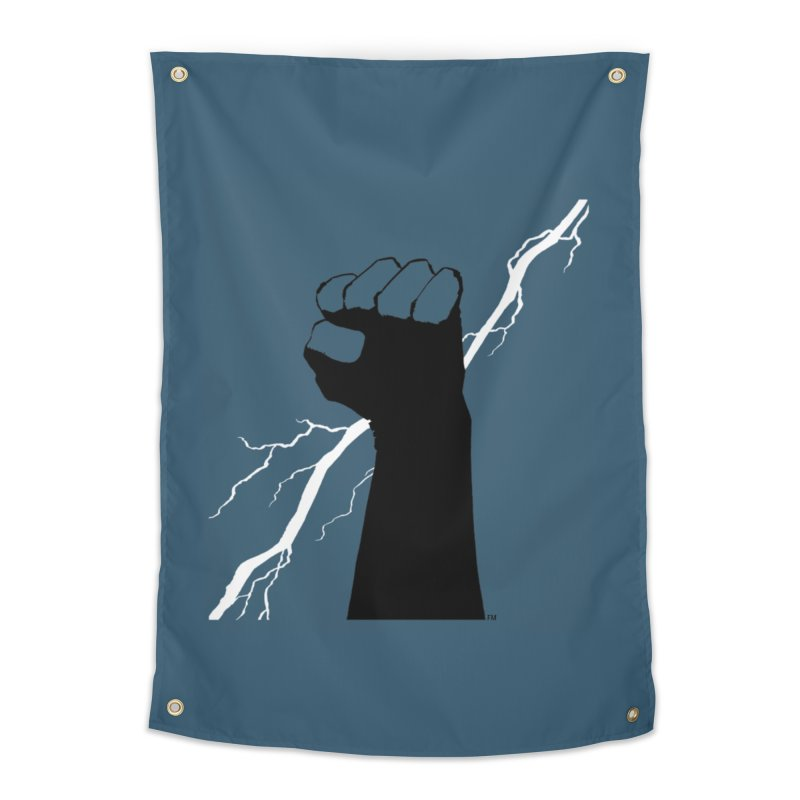 DEFIANT FIST by FRANK MILLER Home Tapestry by COMIC BOOK LEGAL DEFENSE FUND