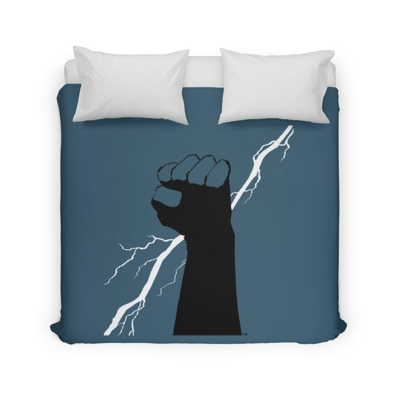 DEFIANT FIST by FRANK MILLER Home Duvet by COMIC BOOK LEGAL DEFENSE FUND
