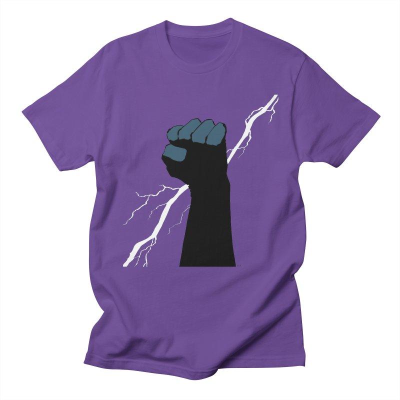 DEFIANT FIST by FRANK MILLER Men's Regular T-Shirt by COMIC BOOK LEGAL DEFENSE FUND