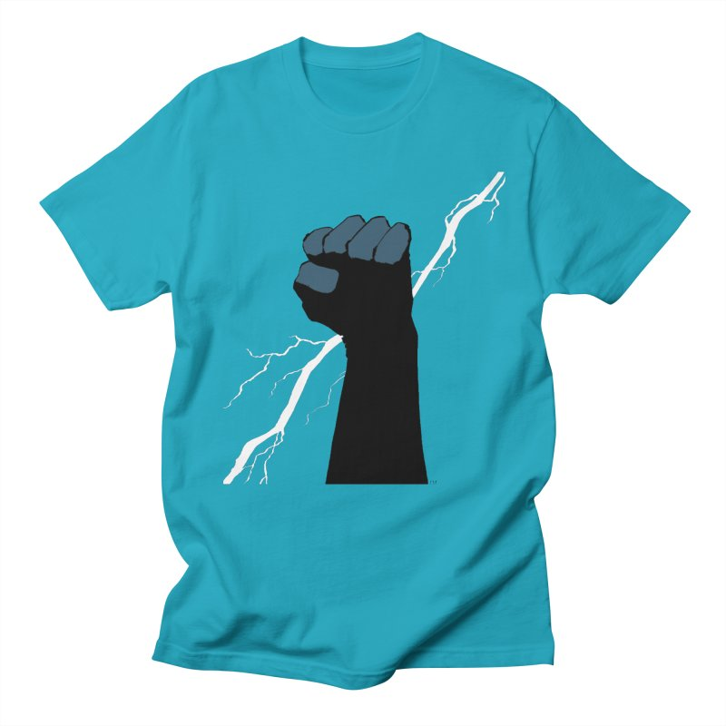 DEFIANT FIST by FRANK MILLER Women's Regular Unisex T-Shirt by COMIC BOOK LEGAL DEFENSE FUND