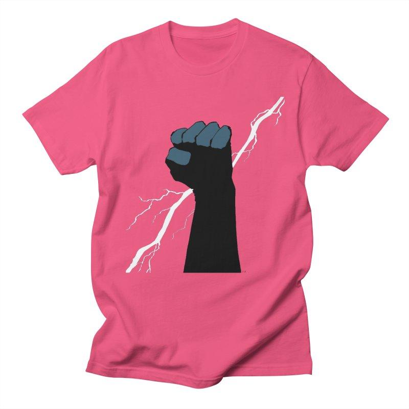 DEFIANT FIST by FRANK MILLER Women's Regular Unisex T-Shirt by COMIC BOOK LEGAL DEFENSE FUND