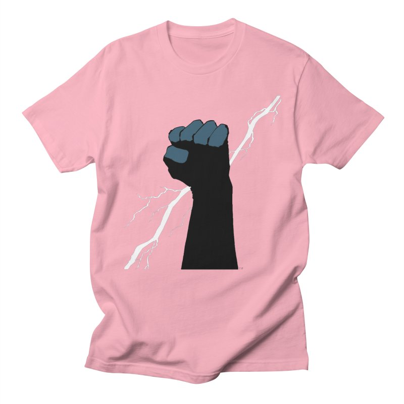 DEFIANT FIST by FRANK MILLER Men's Regular T-Shirt by COMIC BOOK LEGAL DEFENSE FUND