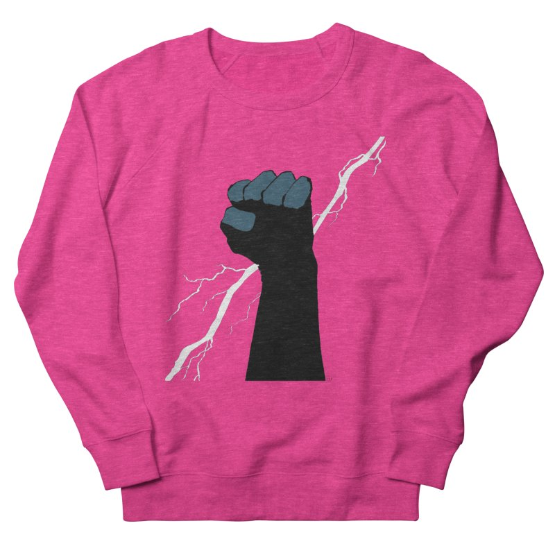 DEFIANT FIST by FRANK MILLER Men's Sweatshirt by COMIC BOOK LEGAL DEFENSE FUND