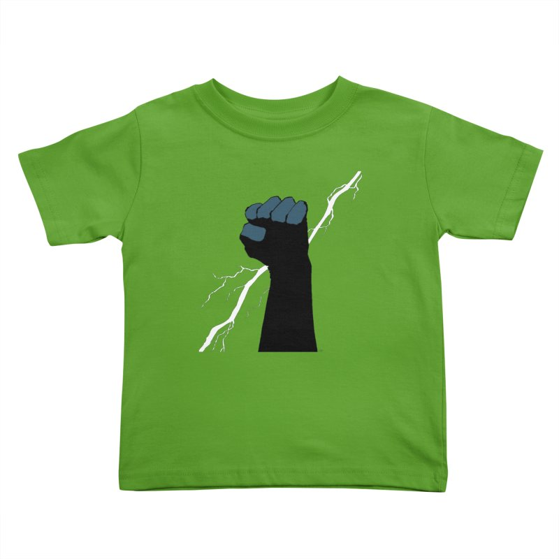 DEFIANT FIST by FRANK MILLER Kids Toddler T-Shirt by COMIC BOOK LEGAL DEFENSE FUND