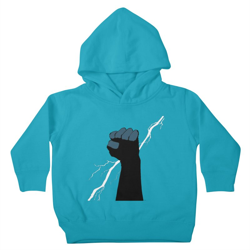 DEFIANT FIST by FRANK MILLER Kids Toddler Pullover Hoody by COMIC BOOK LEGAL DEFENSE FUND
