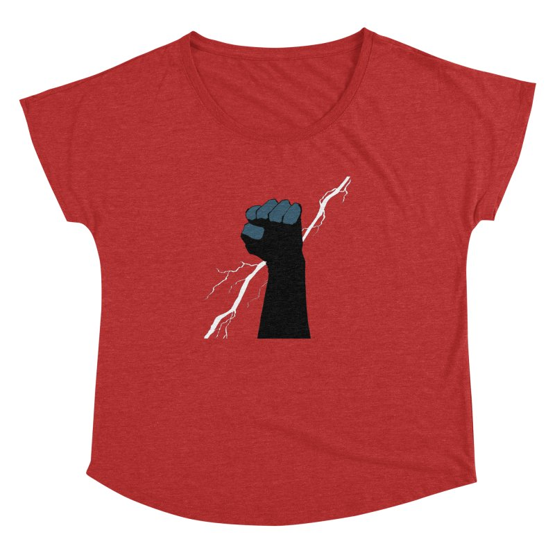 DEFIANT FIST by FRANK MILLER Women's Dolman by COMIC BOOK LEGAL DEFENSE FUND