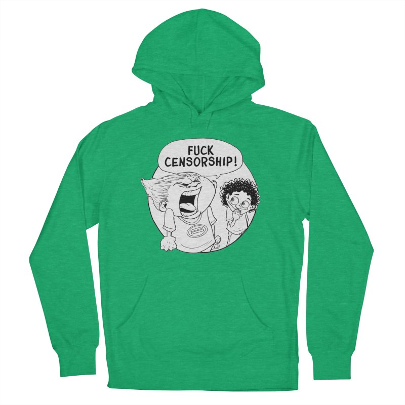 BARRY WEEN (IMPOLITE) by JUDD WINICK Men's Pullover Hoody by COMIC BOOK LEGAL DEFENSE FUND