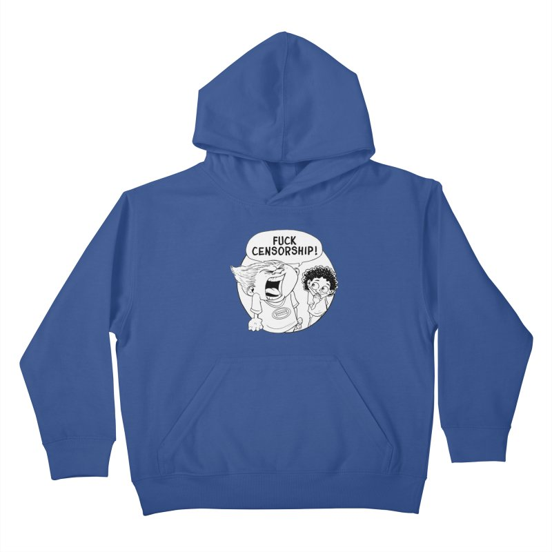 BARRY WEEN (IMPOLITE) by JUDD WINICK Kids Pullover Hoody by COMIC BOOK LEGAL DEFENSE FUND