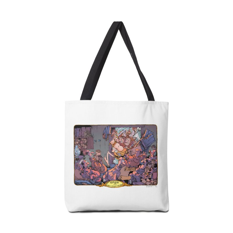 GROO! Accessories Bag by COMIC BOOK LEGAL DEFENSE FUND