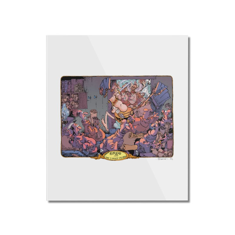 GROO! Home Mounted Acrylic Print by COMIC BOOK LEGAL DEFENSE FUND