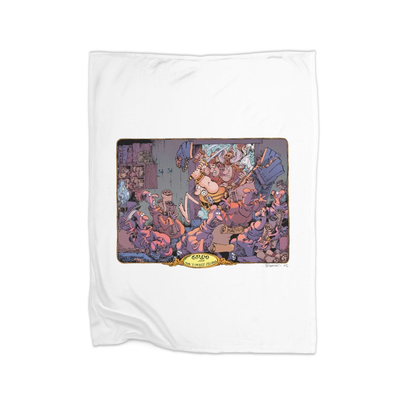 GROO! Home Blanket by COMIC BOOK LEGAL DEFENSE FUND