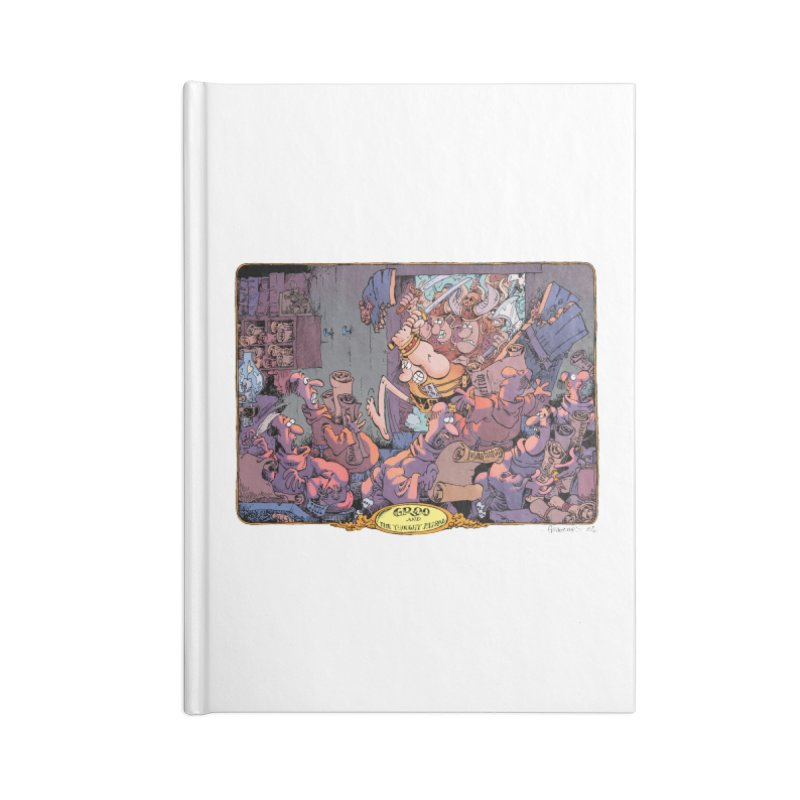 GROO! Accessories Notebook by COMIC BOOK LEGAL DEFENSE FUND