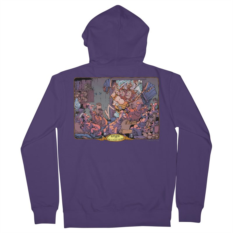GROO! Women's French Terry Zip-Up Hoody by COMIC BOOK LEGAL DEFENSE FUND