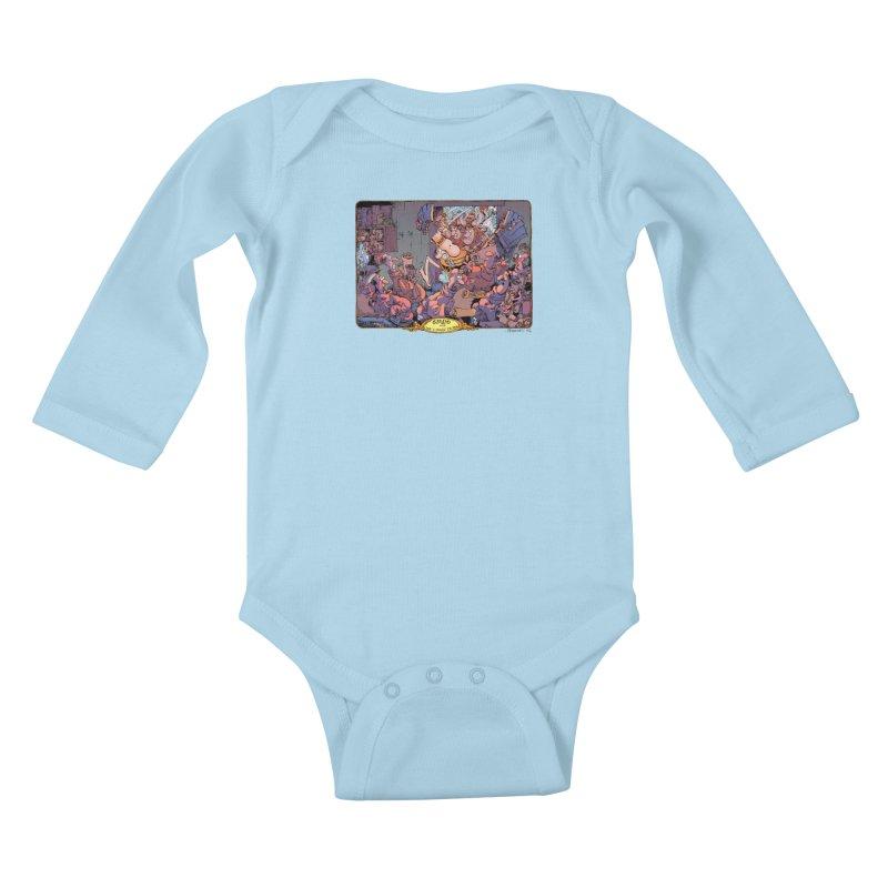 GROO! Kids Baby Longsleeve Bodysuit by COMIC BOOK LEGAL DEFENSE FUND