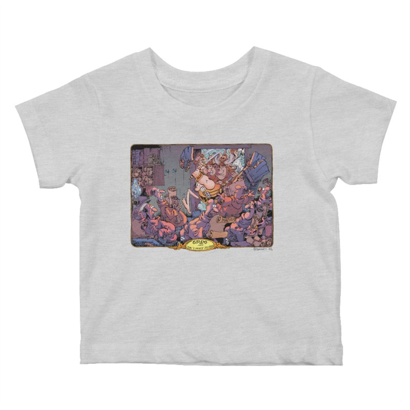 GROO! Kids Baby T-Shirt by COMIC BOOK LEGAL DEFENSE FUND