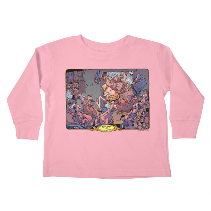 GROO! Kids Toddler Longsleeve T-Shirt by COMIC BOOK LEGAL DEFENSE FUND