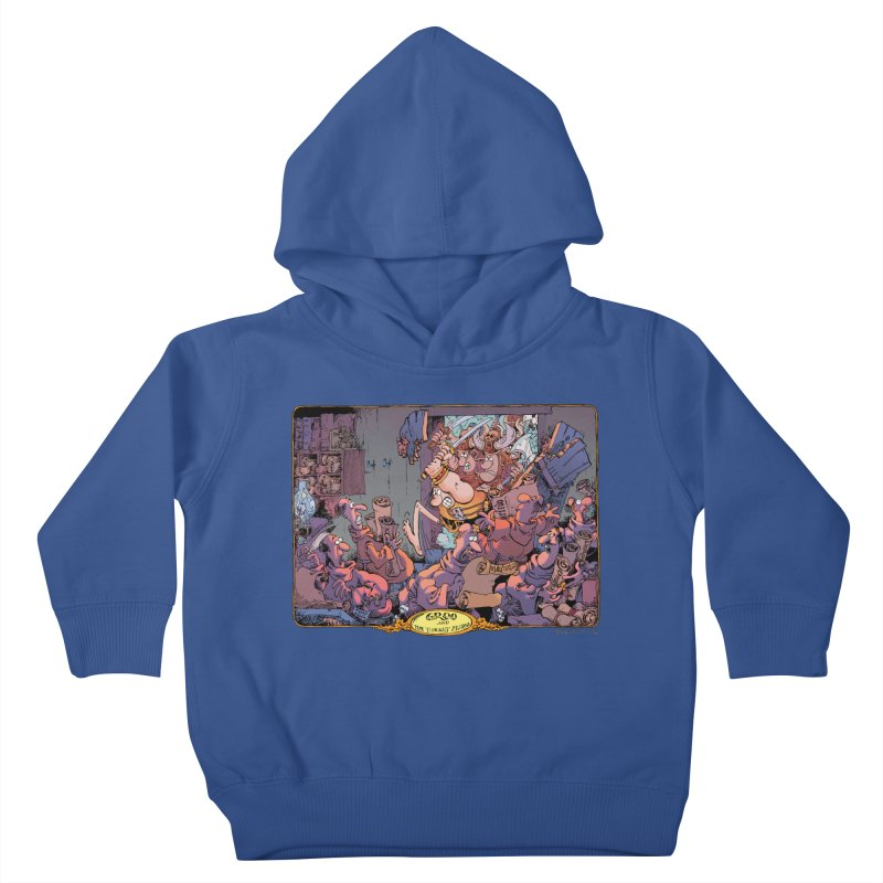 GROO! Kids Toddler Pullover Hoody by COMIC BOOK LEGAL DEFENSE FUND