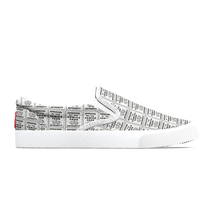 Comics Code Pattern Men's Shoes by COMIC BOOK LEGAL DEFENSE FUND