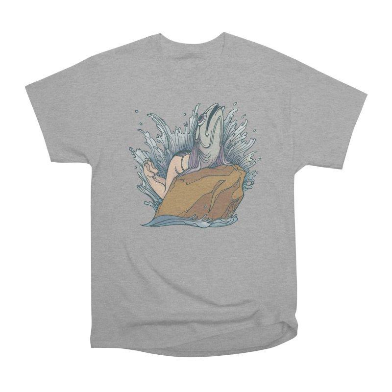 Standard Siren Tee Men's Heavyweight T-Shirt by SPIDERHOUSE