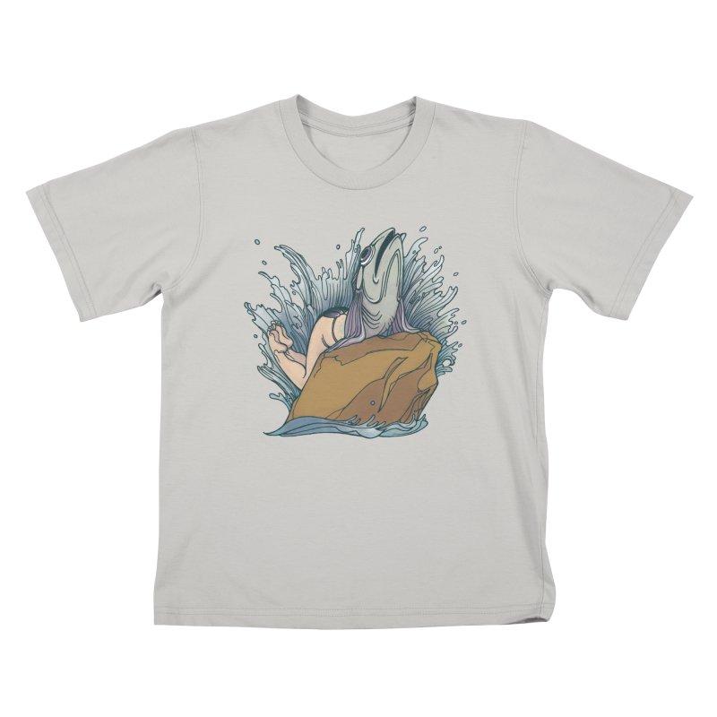 Standard Siren Tee Kids T-Shirt by SPIDERHOUSE