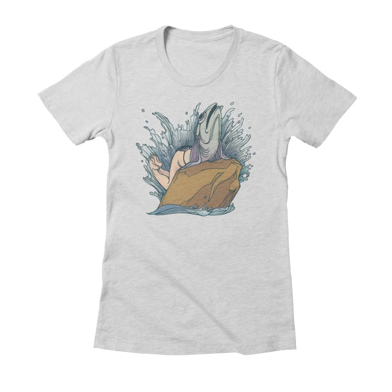 Standard Siren Tee Women's Fitted T-Shirt by SPIDERHOUSE
