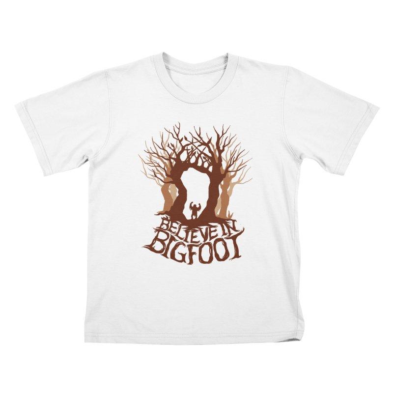 Believe Tee Kids T-Shirt by SPIDERHOUSE